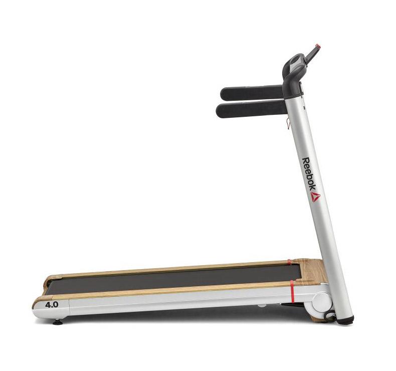neues Erscheinungsbild Original verschiedene Stile Reebok Laufband i-Run 4.0 Silber   fitnessdigital